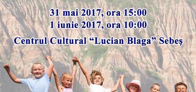 Agenda de evenimente a Spitalului Sebeş dedicată Sărbătorii de 1 Iunie