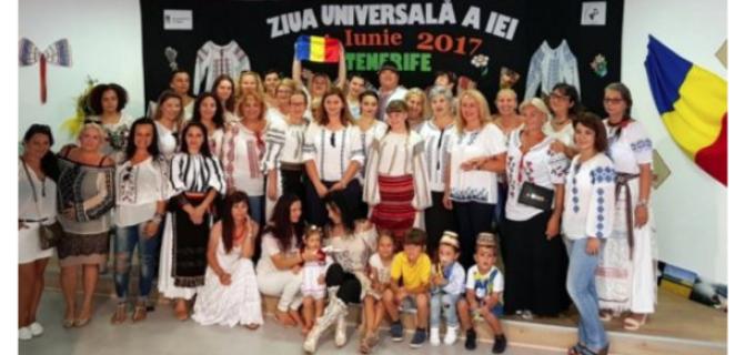 Sebeșenii din Tenerife au sărbătorit Ziua Universală a Iei