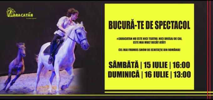 Cel mai frumos spectacol de echitatie din Romania revine în weekend, la Salina Equines, cu 2 reprezentații: