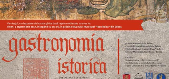 """Vernisajul expoziției interactive """"Gastronomia istorică între știință și reenactment. Despre obiceiurile culinare în Transilvania medievală."""""""