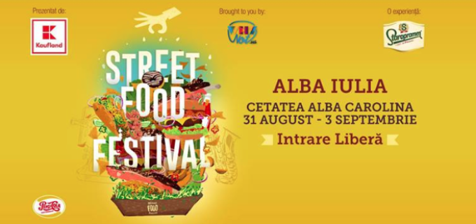 Street Food Festival la ALBA IULIA: 31 august – 3 septembrie