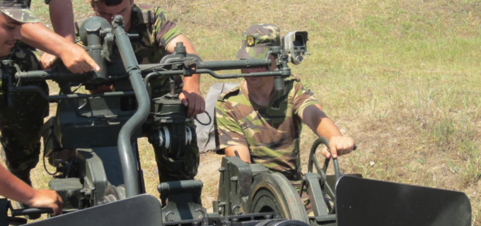 """În data de 19.10.2017 în poligonul """"Râpa Roșie"""", va avea loc o ședință de tragere cu muniție de război"""