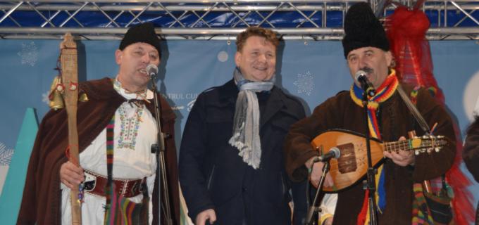 Atmosferă autentică de Crăciun, la Sebeș!
