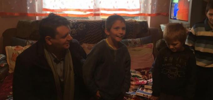 """Acțiune plină de emoții la Sebeș. Primarul Dorin Nistor: """"Am dăruit din inimă pentru inimi"""""""