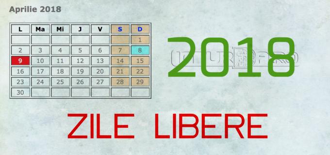 Vezi AICI calendarul sărbătorilor legale din 2018