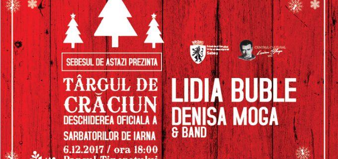 VIDEO: Lidia Buble te invită la deschiderea Târgului de Crăciun de la Sebeș