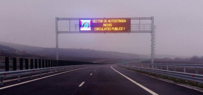Veste proastă pentru șoferi: Autostrada Sebeș – Turda rămâne închisă