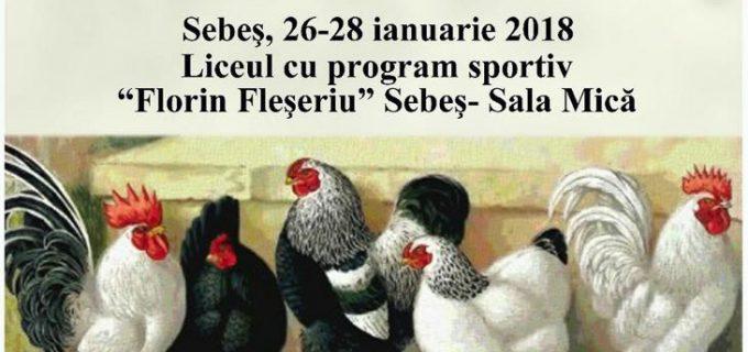 Expoziție columbofilă în acest weekend la Sebeș