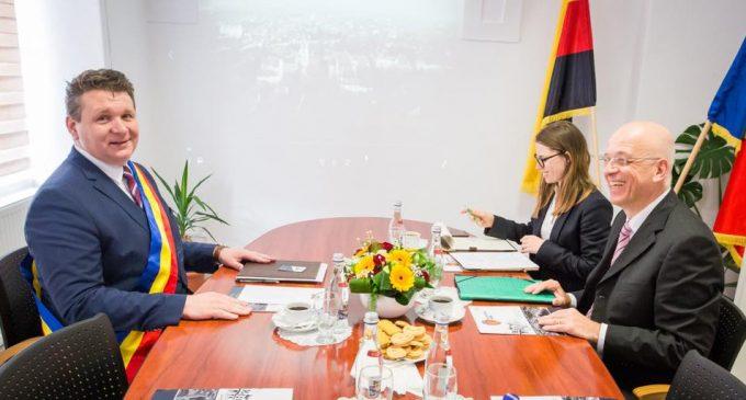 Ambasadorul Germaniei, Excelența Sa domnul Cord Meier-Klodt, în vizită oficială la Sebeș