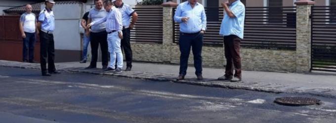 Dorin Nistor: Suntem nemulțumiți de execuția lucrărilor edilitare din Lancrăm și anunțăm că acestea nu s-au recepționat